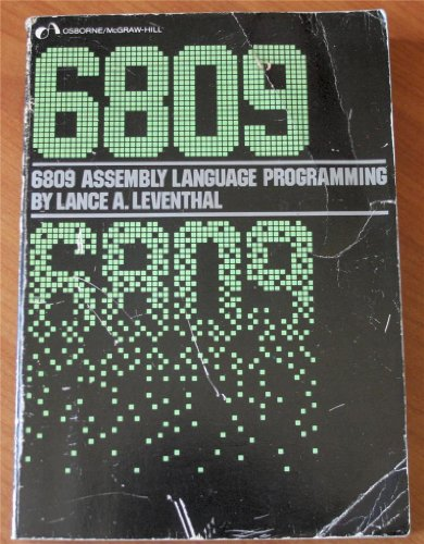 9780079310354: 6809 Assembly Language Programming
