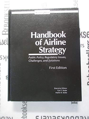 9780079823939: Handbook of Airline Strategy