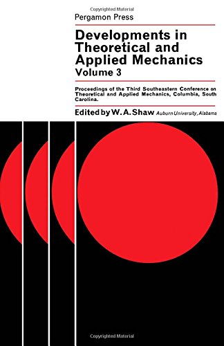 Developments in Theoretical and Applied Mechanics: v. 3: Winifred Aldridge Shaw