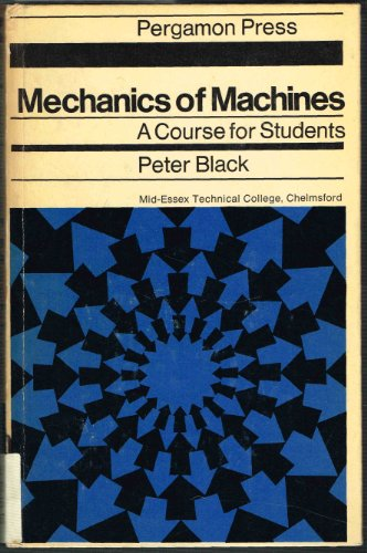9780080031446: Mechanics of Machines