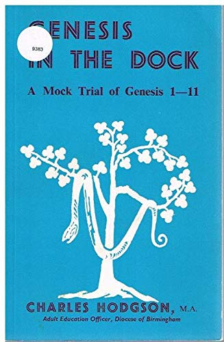 9780080061412: Genesis in the Dock