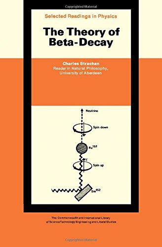 9780080065090: The Theory of Beta-Decay [Selected Readings in Physics]