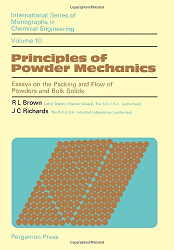 9780080066059: Principles of powder mechanics;: Essays on the packing and flow of powders and bulk solids (International series of monographs in chemical engineering)