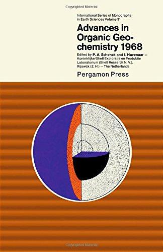 9780080066288: Advances in organic geochemistry, 1968;: Proceedings (International series of monographs in earth sciences, v. 31)