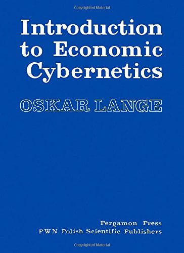 9780080066523: Introduction to Economic Cybernetics