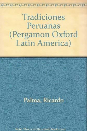 9780080066653: Tradiciones Peruanas (Pergamon Oxford Latin America)