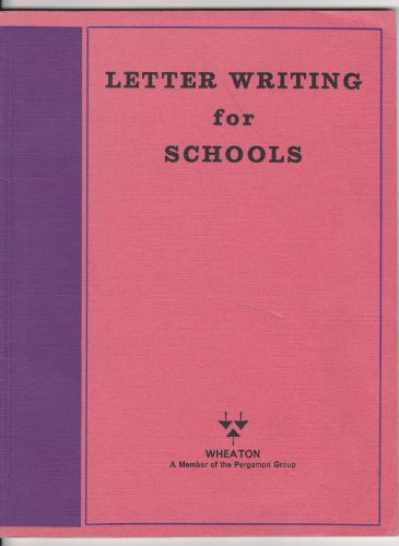 9780080068299: Letter Writing for Schools