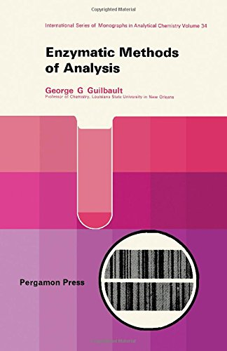9780080069890: Enzymatic methods of analysis, (International series of monographs in analytical chemistry)