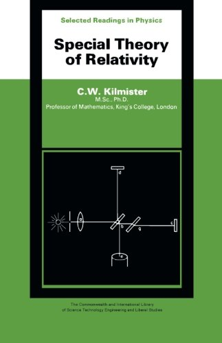 9780080069951: Special Theory of Relativity: The Commonwealth and International Library: Selected Readings in Physics