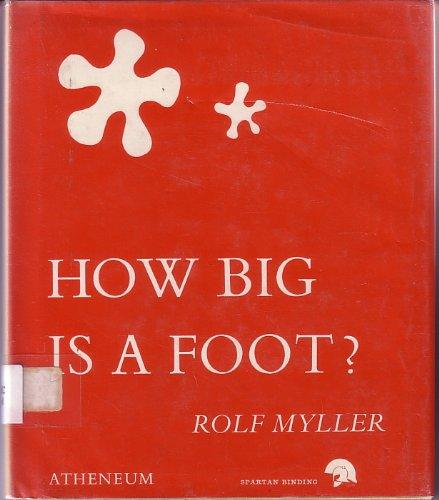 9780080070162: How Big is a Foot?
