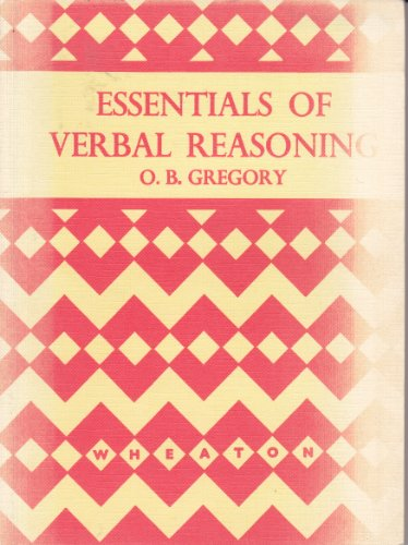 9780080082554: Essentials of Verbal Reasoning
