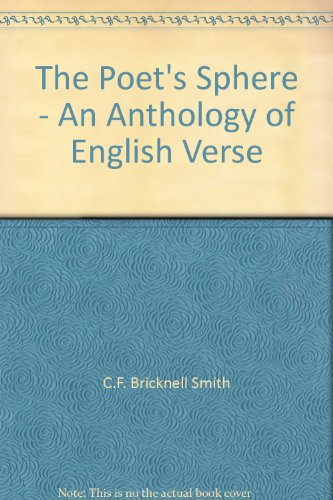 9780080087375: The Poet's Sphere - An Anthology of English Verse