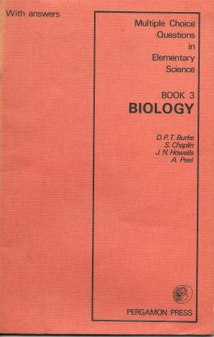 9780080089720: Biology (Multiple choice questions in elementary science; book 3)