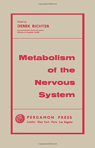 9780080090627: Metabolism of the Nervous System.