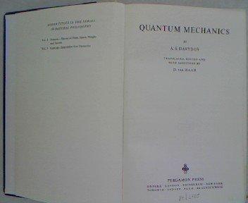 9780080091013: Quantum Mechanics