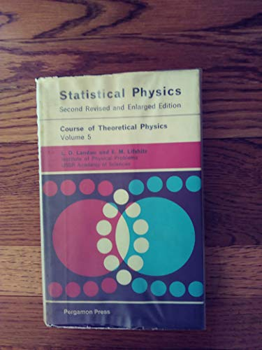 9780080091037: Statistical Physics. Second Revised English Edition. (Course of Theoretical Physics Volume 5)