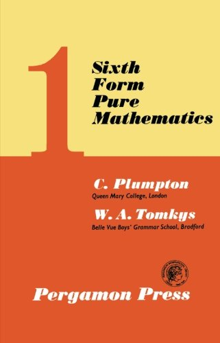 9780080093741: Sixth Form Pure Mathematics: Volume 1 (v. 1)