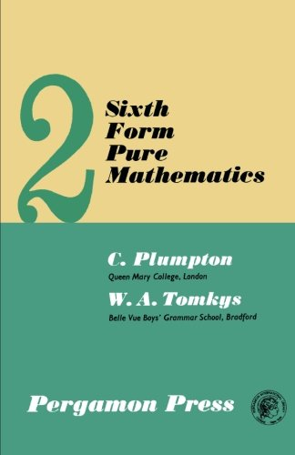 9780080093833: Sixth Form Pure Mathematics: Volume 2