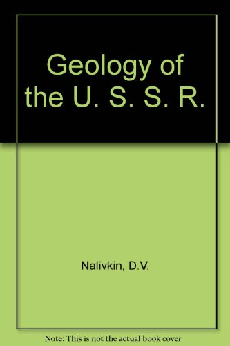 9780080094106: Geology of the U. S. S. R.
