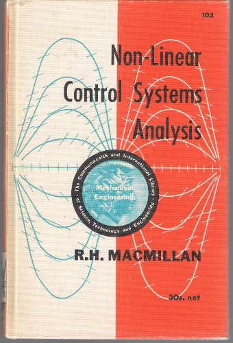 9780080096445: Non-Linear Control Systems Analysis