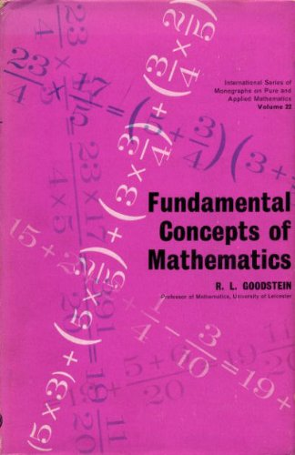 9780080096520: FUNDAMENTAL CONCEPTS OF MATHEMATICS: Volume 22 of Pure and Applied Mathematics series