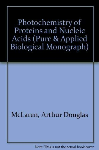9780080101392: Photochemistry of Proteins and Nucleic Acids