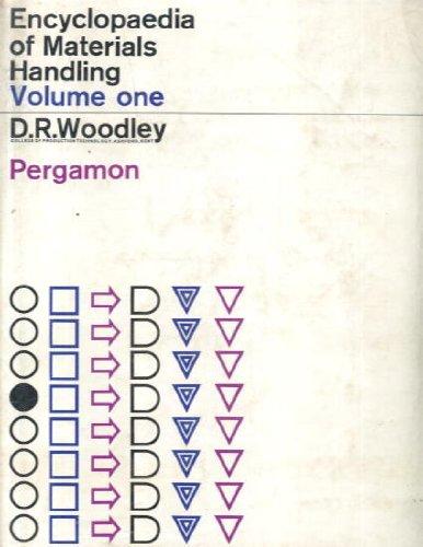 Encyclopaedia of Materials Handling in Two Volumes: Douglas R., editor Woodley