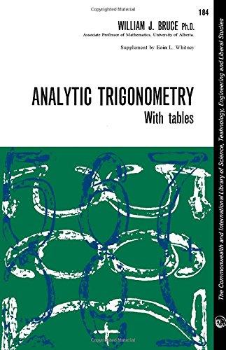 9780080103112: Analytic trigonometry.