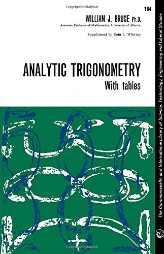 9780080103112: Analytic trigonometry.
