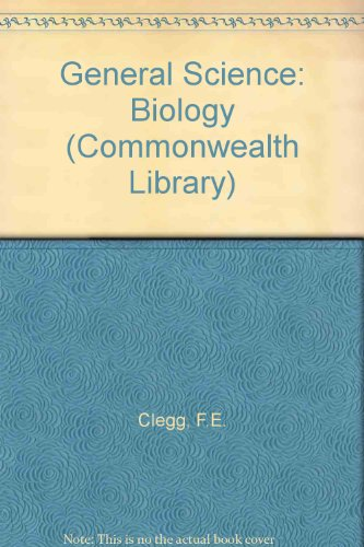 9780080104362: General Science: Biology (Commonwealth Library)