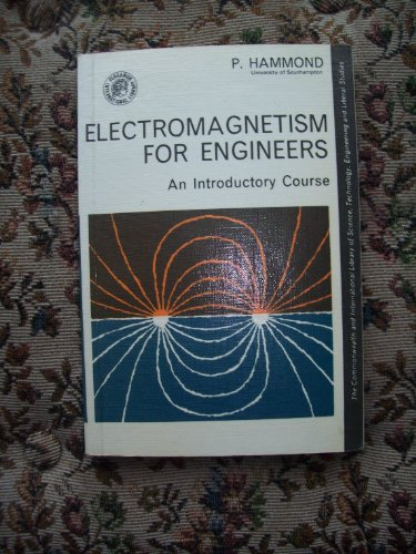 9780080105888: Electromagnetism for Engineers: An Introductory Course (Commonwealth Library)