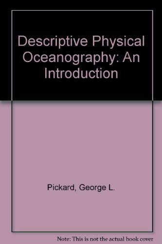 9780080107424: Descriptive Physical Oceanography : An Introduction