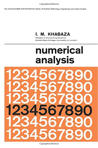 9780080107745: Numerical Analysis: The Commonwealth and International Library: Higher Mathematics for Scientists and Engineers