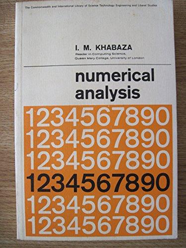 9780080107752: Numerical Analysis