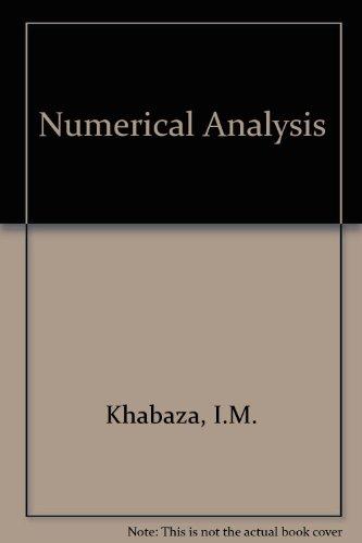 9780080107769: Numerical Analysis
