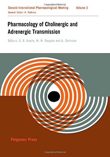 9780080108056: Pharmacology of Cholinergic and Andrenergic Transmission