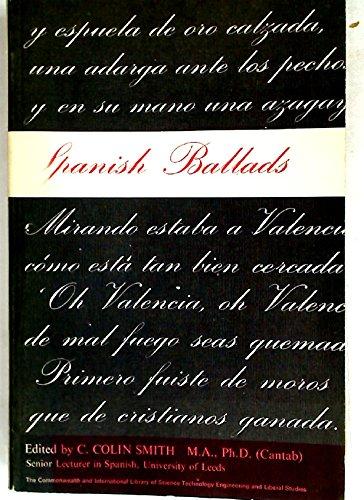 9780080109138: Spanish Ballads