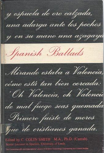 9780080109145: Spanish Ballads