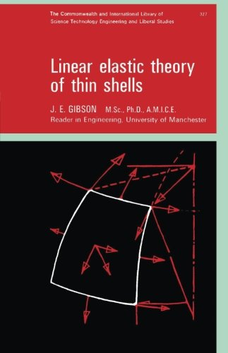 9780080109442: Linear Elastic Theory of Thin Shells: The Commonwealth and International Library: Structures and Solid Body Mechanics Division (Commonwealth Library)