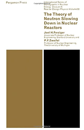 9780080110141: The Theory of Neutron Slowing Down in Nuclear Reactors