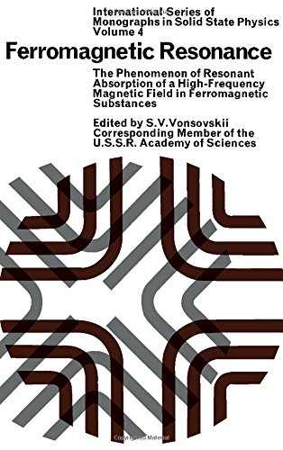 9780080110271: Ferromagnetic Resonance