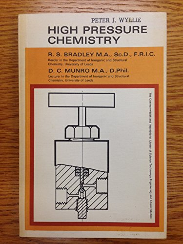 9780080110318: High Pressure Chemistry