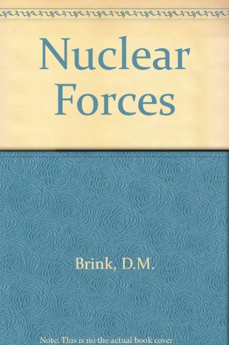 9780080110332: Nuclear Forces