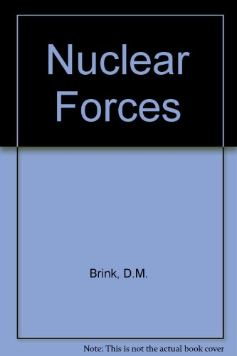 9780080110349: NUCLEAR FORCES.