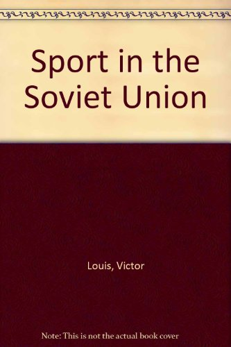 9780080110547: Sport in the Soviet Union