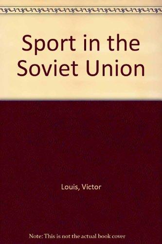 9780080110547: Sport in the Soviet Union