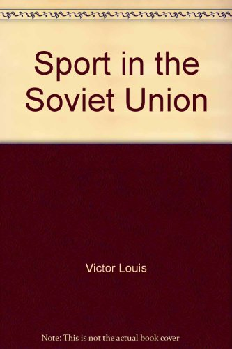 9780080110554: Sport in the Soviet Union