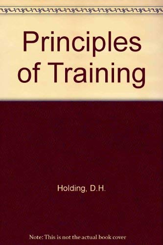 9780080111612: Principles of Training