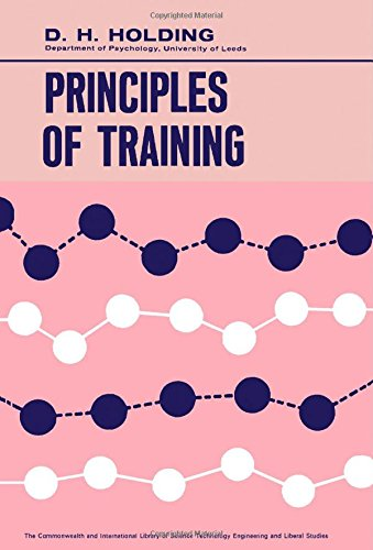 9780080111629: Principles of Training