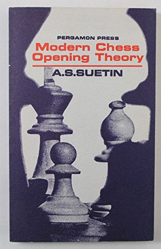 9780080111988: Modern Chess Opening Theory